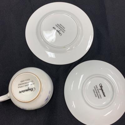Signature fine bone China 3pc tea set