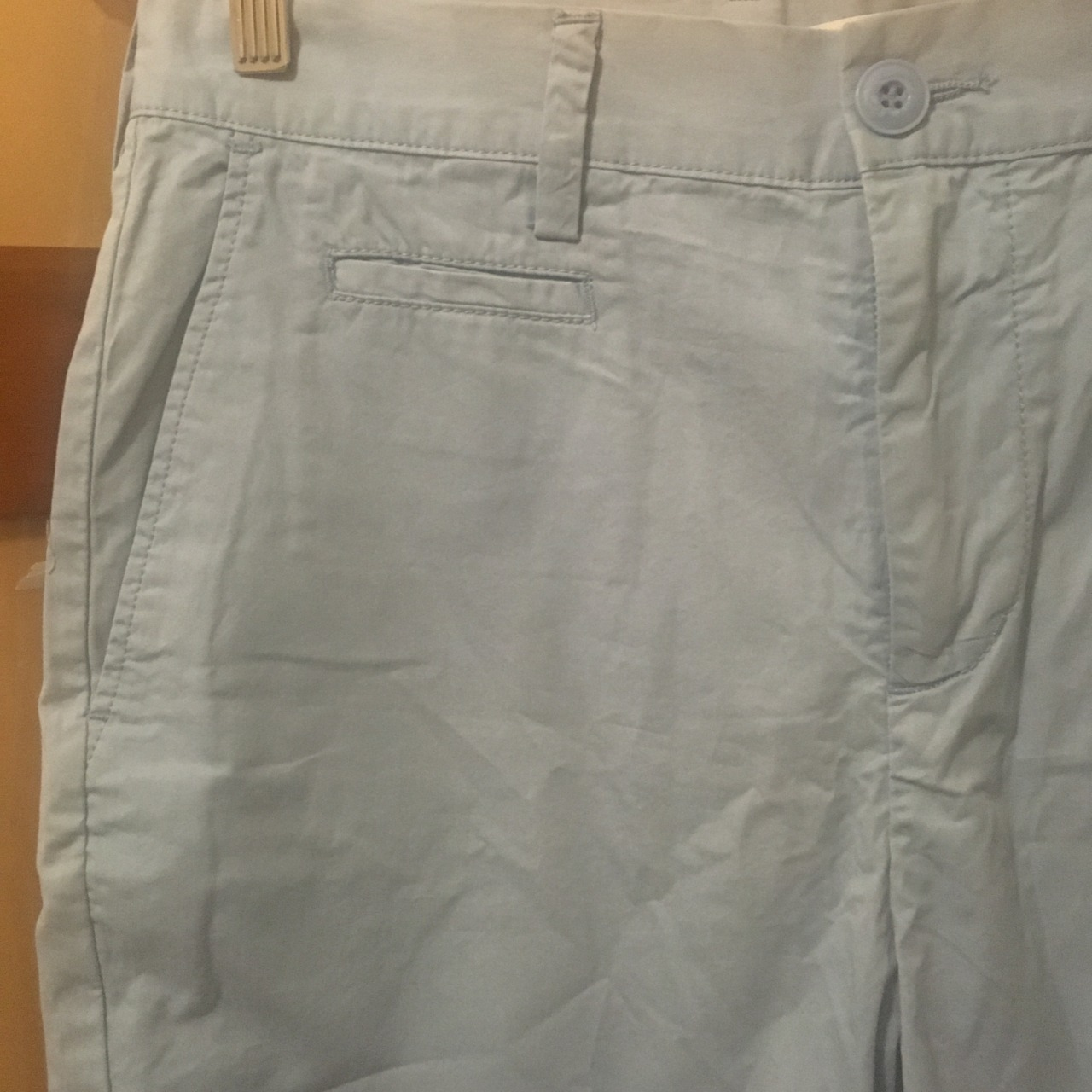 Country Road Mens  Size 32 Light Blue Twill Shorts BNWT