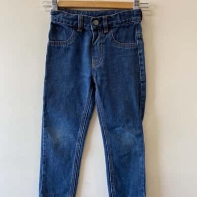 Target Essentials Boys Size 5 Blue Jeans