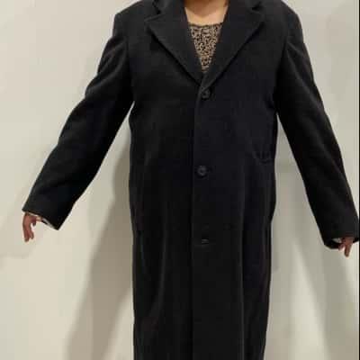 Joseph Abboud Mens  Size 44 Winter Coat Grey
