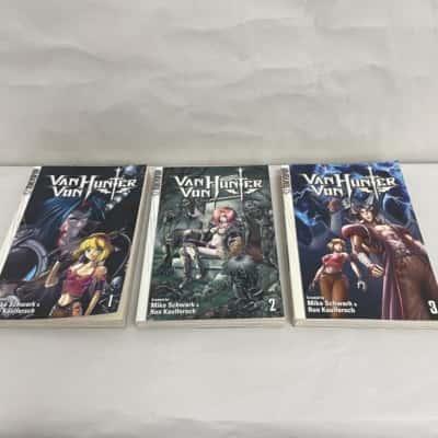 """""""VAN VON HUNTER"""" by Mike Schwark and Ron Kaulfersch Volumes 1-3"""