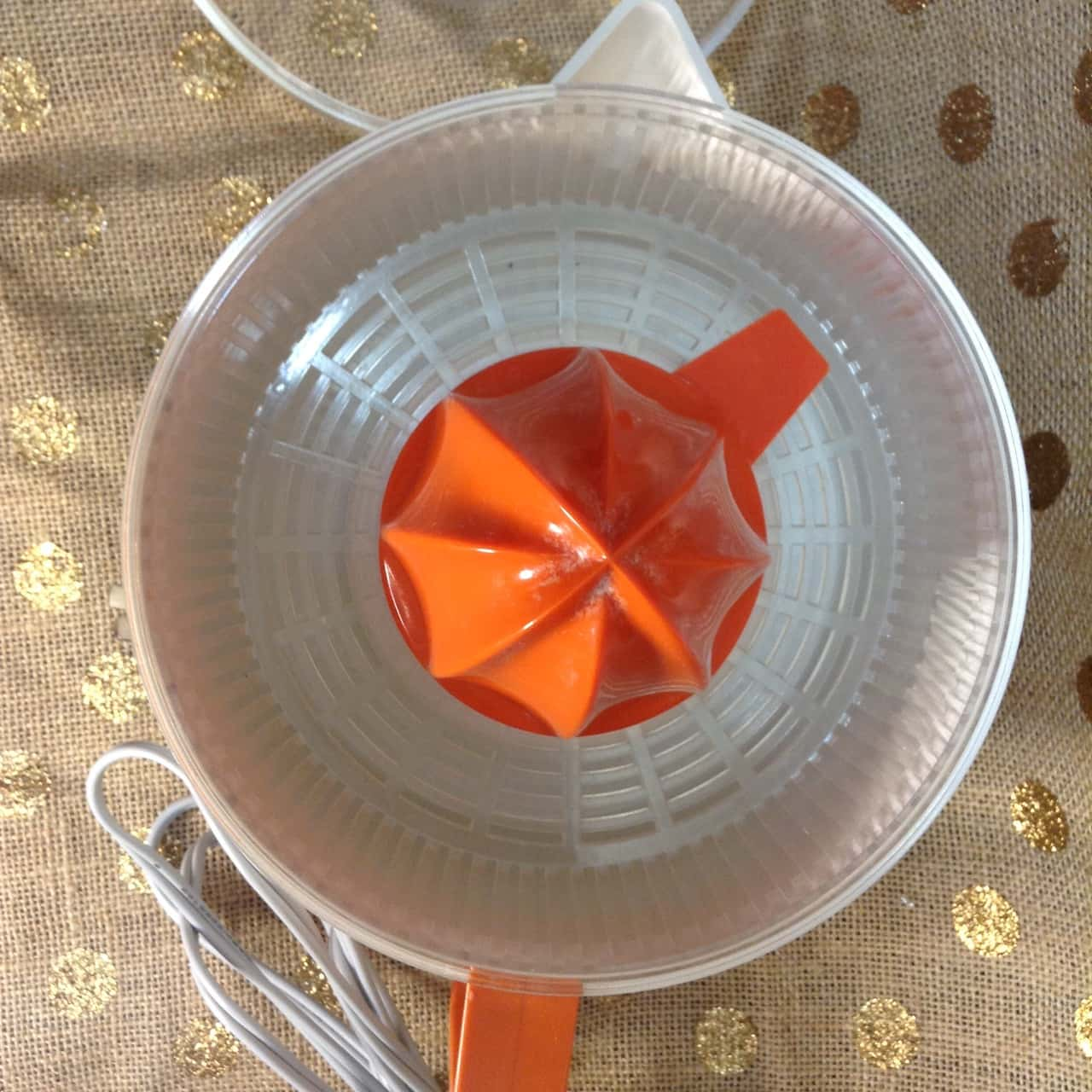 Vintage General Electric Jucy Lucy Orange Squeezer