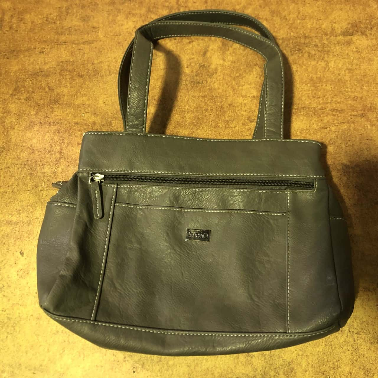 Womens Grey Cabrelli Bag- Lot Of Pockets