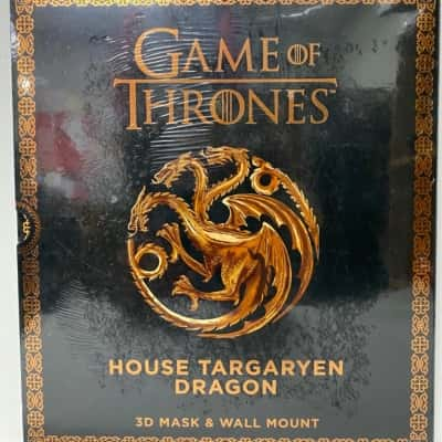 HBO_2017 Game of Throwns. 3D mask and wall mount, House Targaryen Dragon