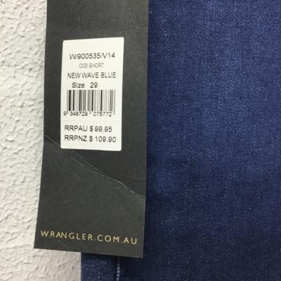 Wrangler Womens  Size Select Size Blue