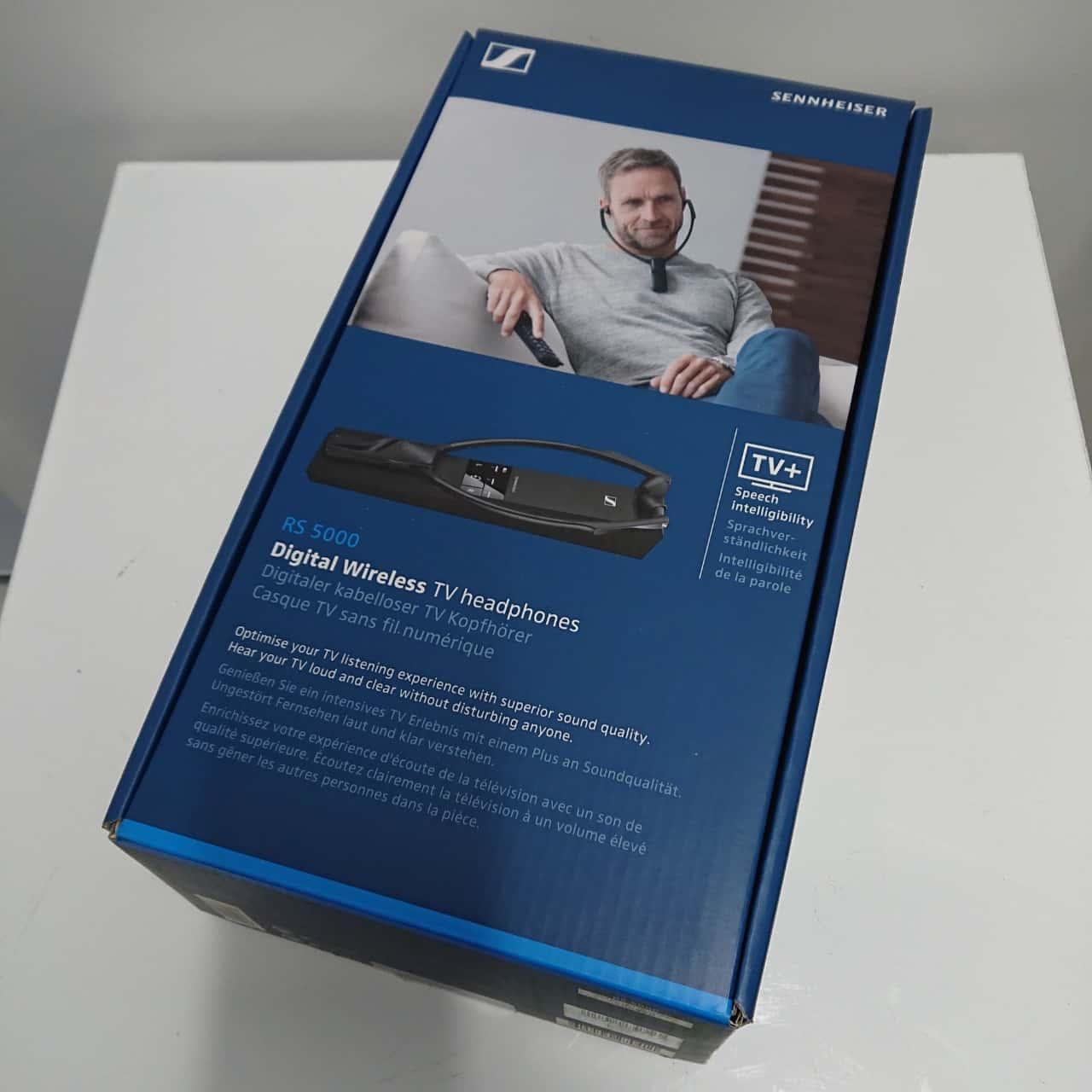 NEW Sennheiser RS 5000 Wireless Digital TV Listening System