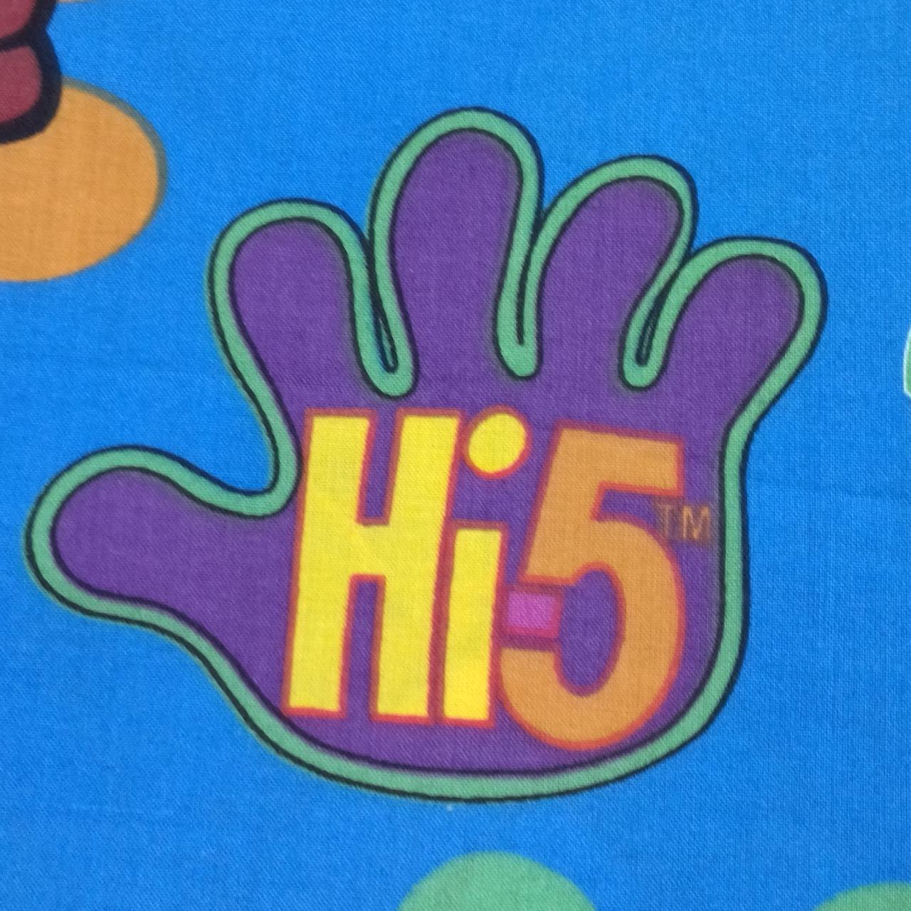 Hi 5 Colorful Material 108 cm x 216 cm