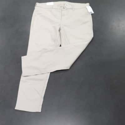 Mens H.M. Straight Jeans Cream Size 36