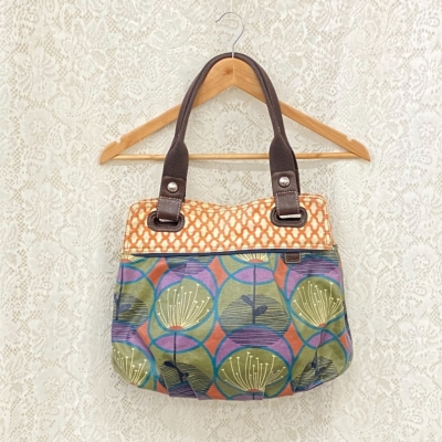 Fossil Women Floral Tote Bag
