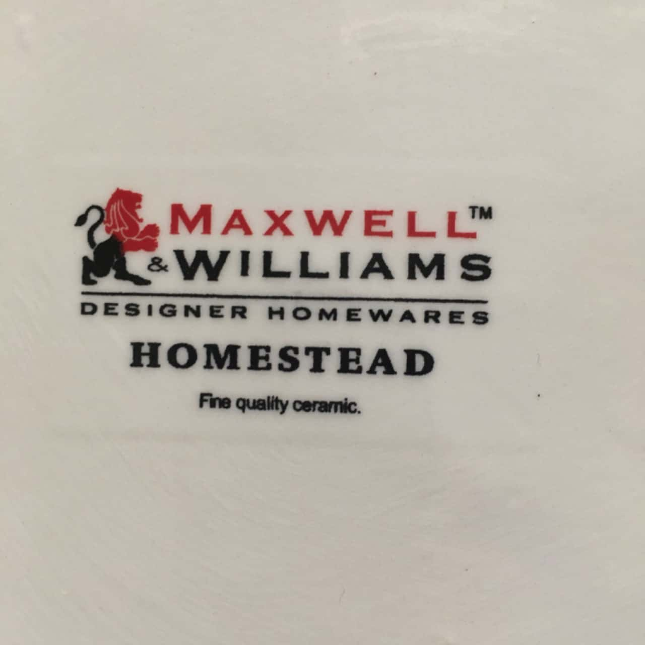 Maxwell & Williams 3 Pc Ceramic Canisters, Used as New