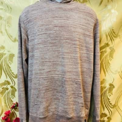 ONeill Mens Hoodie Size L Brown/Cream