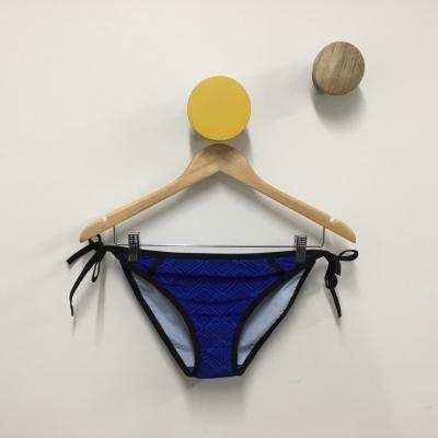 Panache Swim Womens Blue Size 8 Bikini Bottom