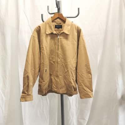 PRICE REDUCED - OLD SCHOOL Ralph Lauren Men's Size XXL Bomber Brown Jacket