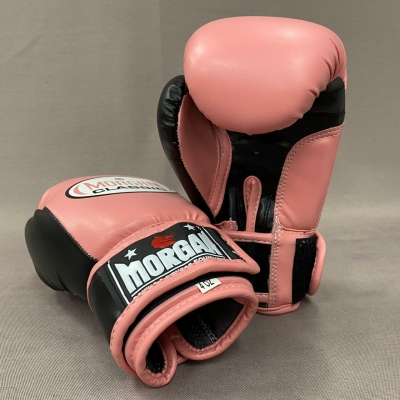 Morgan Classic Kids Sparring Boxing Pink Gloves 4oz