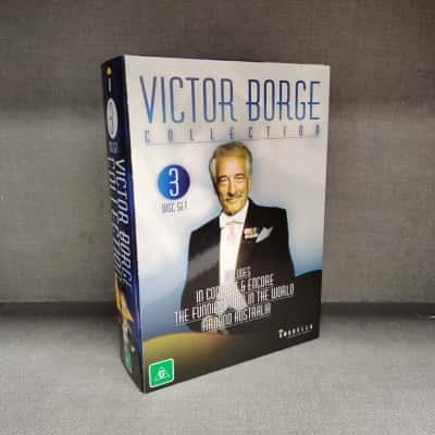 Victor Borge Collection Including In Concert, The Funniest Man In The World & Around Australia 3 DVD Set