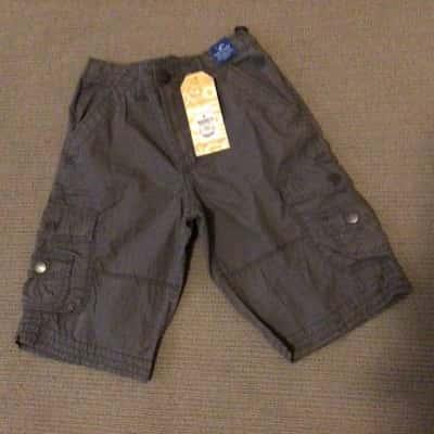 BNWT Boys MONGOOSE (Target) CARGO SHORTS  Size 9 Grey