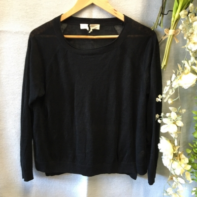 Lee Mathews Womens Jumpers Black Size M