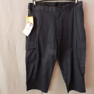 Hard Yakka Mens Navy Blue Long Work Shorts Size 92R NWT