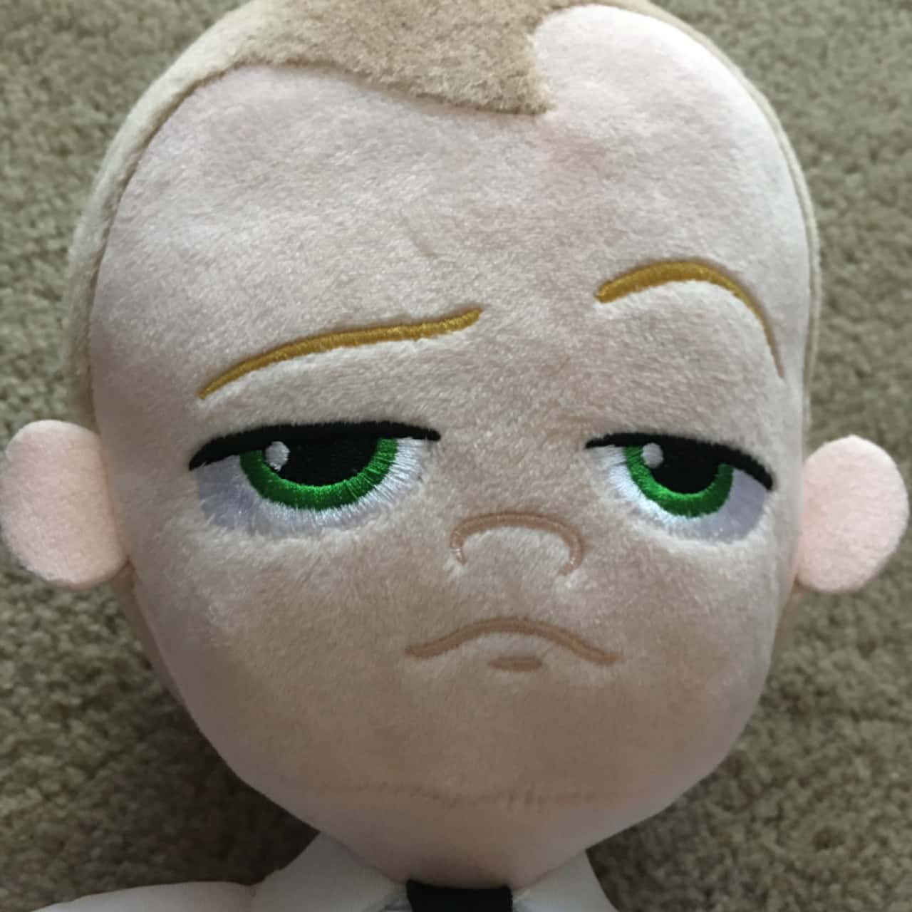 Boss Baby Dreamworks Soft Toy