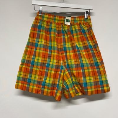 Women's Vintage Target Ginham rainbow shorts size 12