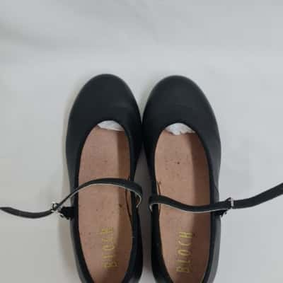 BLOCH Girl's Size 6 Black Tap Shoes