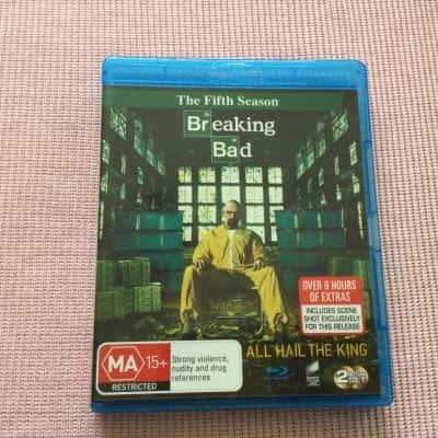 BREAKING BAD ALL HAIL THE KING Blu-ray 2 Discs set