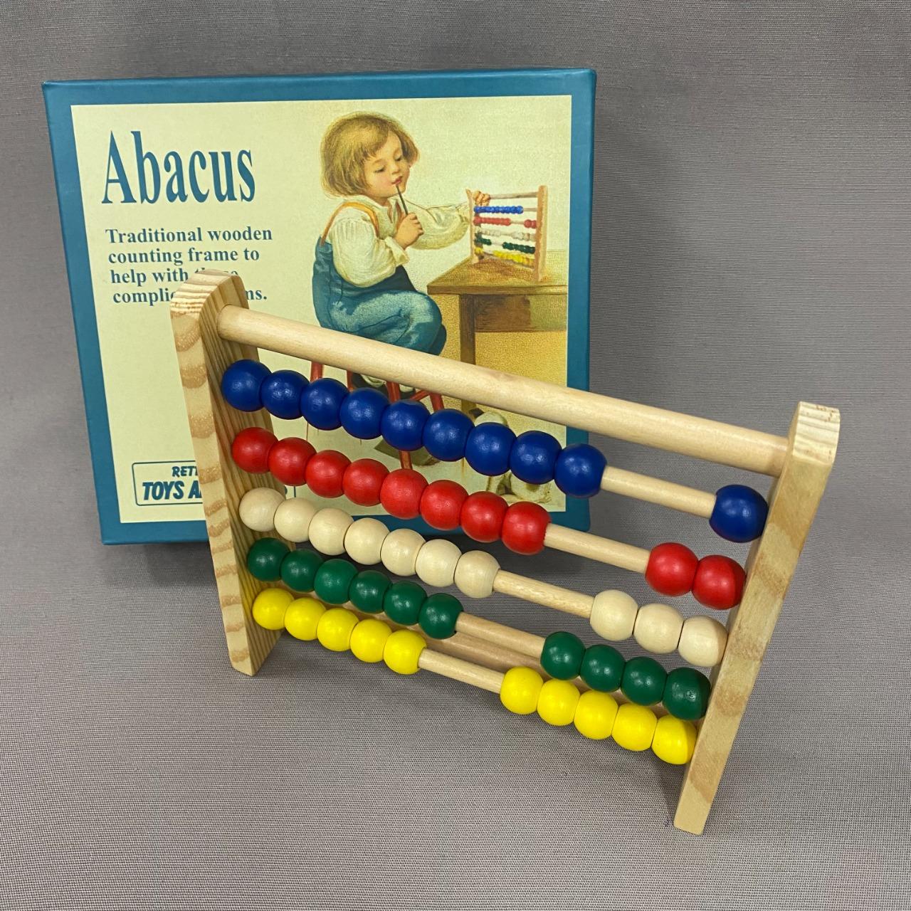 Kids Retro Range Wooden Abacus Set