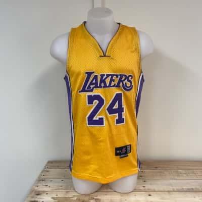 Kobi Bryant jersey  Size 42 Purple/Yellow
