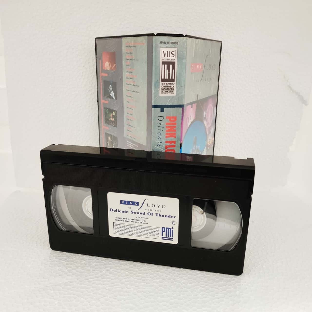 VHS Tape of Pink Floyd in Concert - The Delicate Sound of Thunder