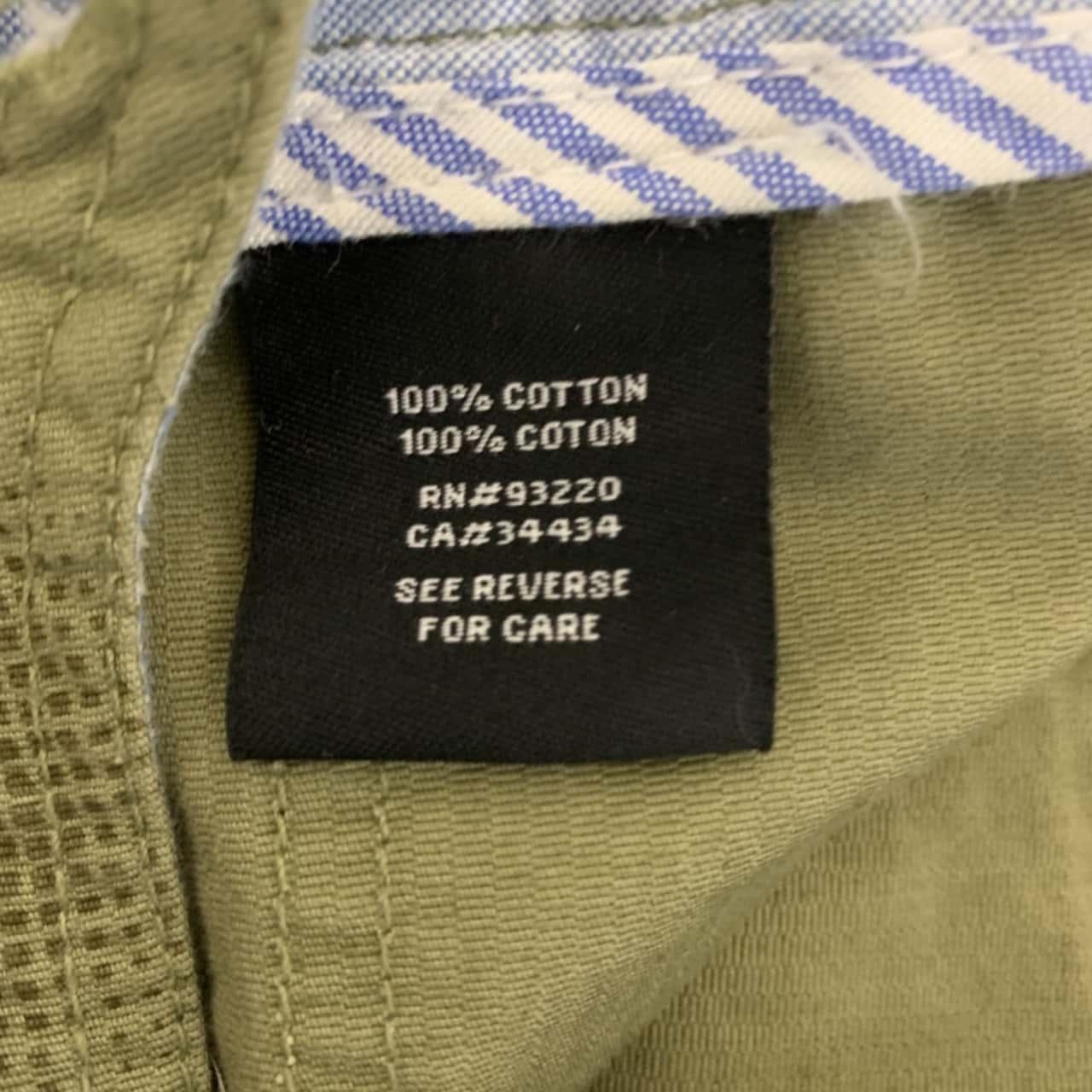 DC Mens Shorts size 27 Green/Pattern