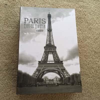 Eiffel Tower Paris Decorative Book Box
