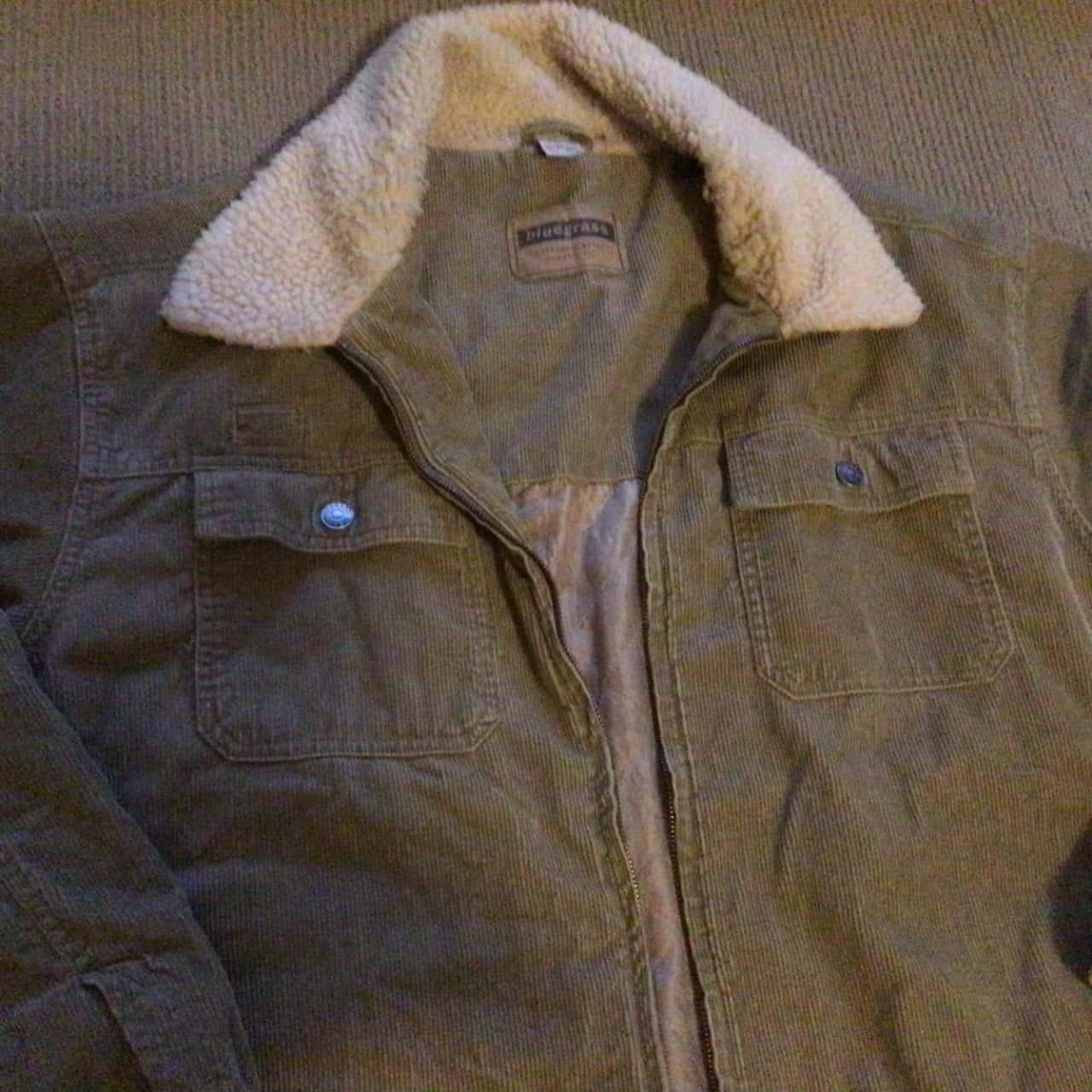 Mens  Bluegrass (Target) Vintage Style Corduroy Jacket Size XL Green