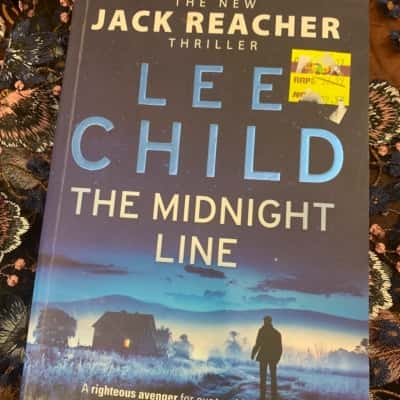 RRP $33 LEE CHILD The Midnight Line Jack Reacher #22