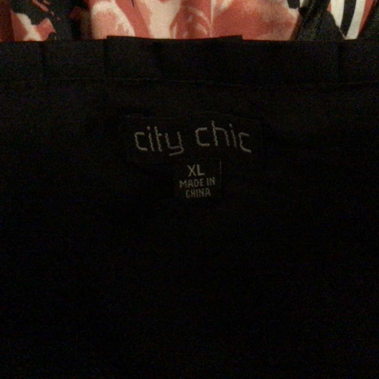 NWOT Womens CITY CHIC DRESS with CORSET LACE UP BACK Formal Dress/Cocktail Dress/Midi Dress Black /Red/White