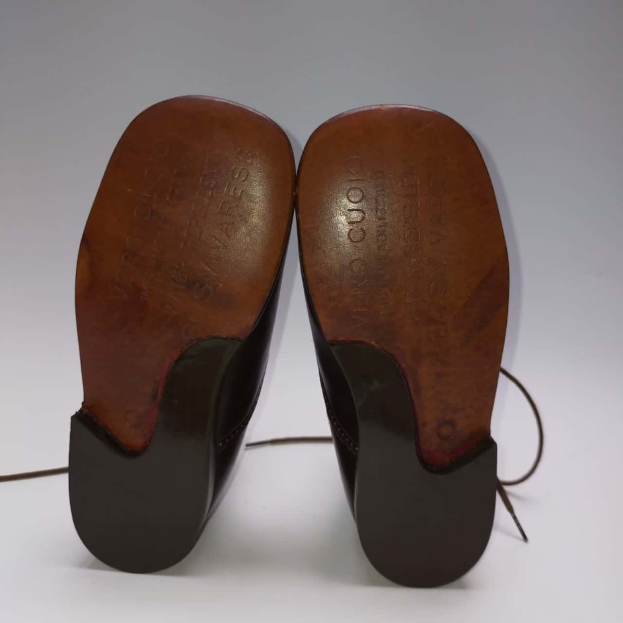 VERO CUOIO Leather kids shoes Size 7.5 (25) Brown