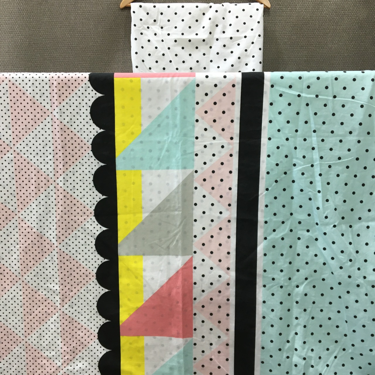 50% Off - Roomates, Quilt Cover Set, Geometric & Polka Dot Pattern, Single Bed