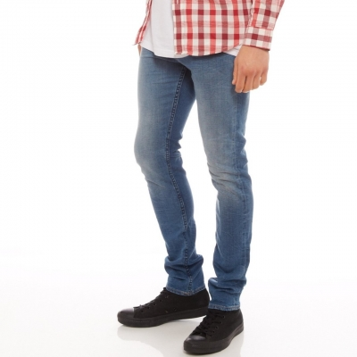 Lee Mens Stovepipe L1 Jeans Size 33