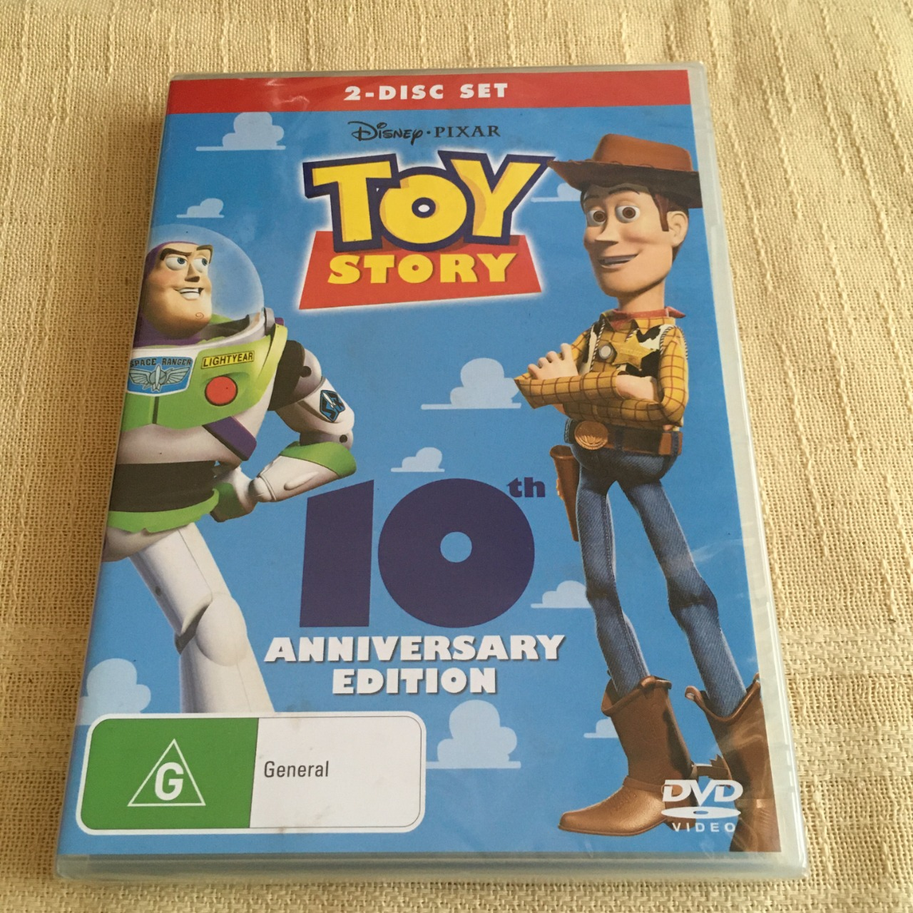 Toy Story DVD - 2 Disc Set 10th Anniversary Edition - Brand New