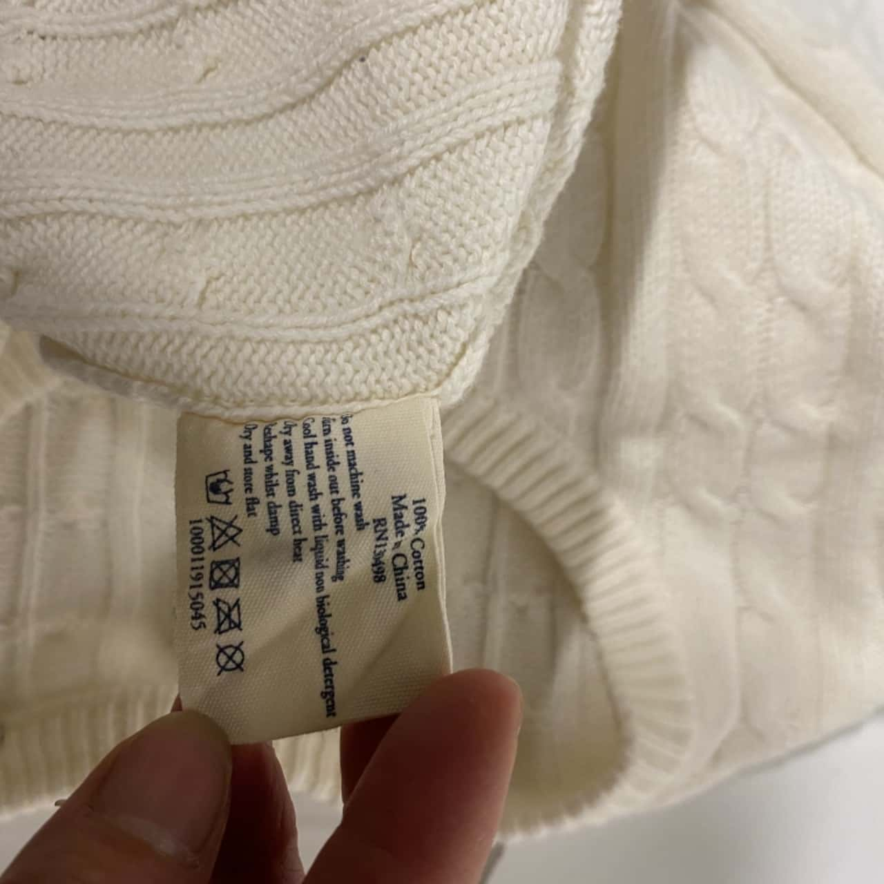 Jack Wills Womens  Size 8 Jumpers White