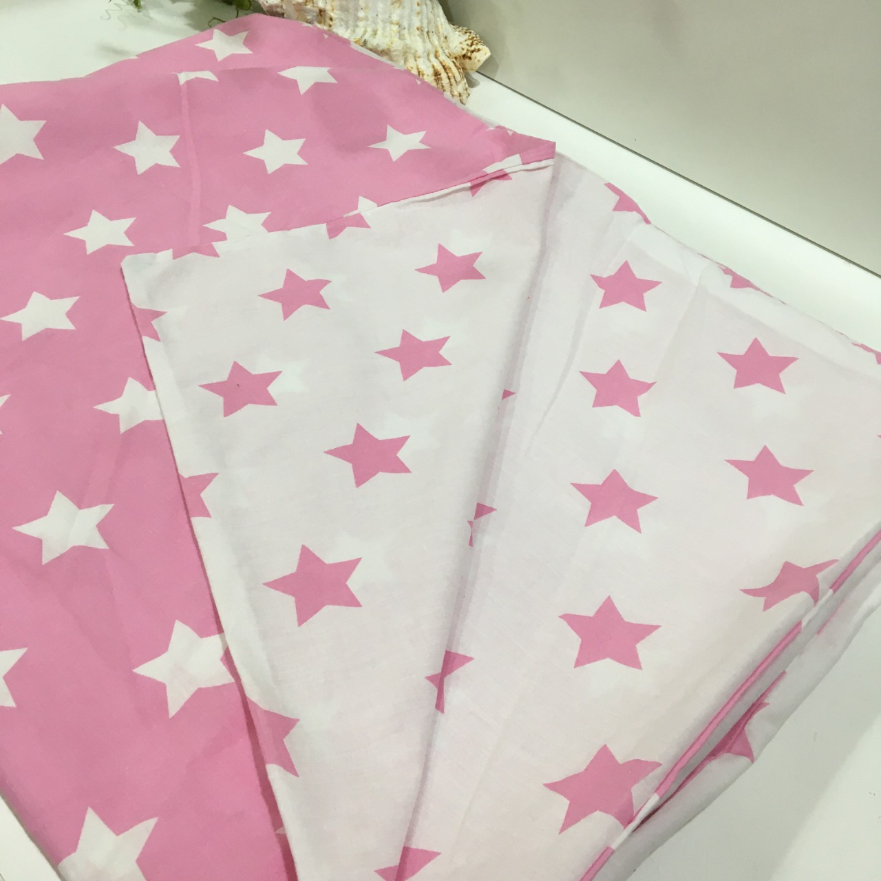 50% Off - Astro, Quilt Cover Set, Single Bed, Pink/White
