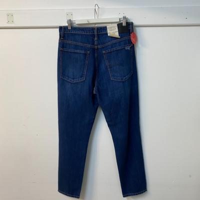 Nobody Mens Denim Blue High Rise Slim Leg Blue Jeans  Size 31