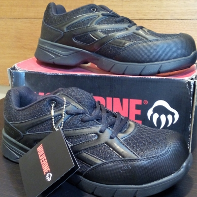 Wolverine JETSTREAM Safety Shoe Mens  Size 9.5 Black