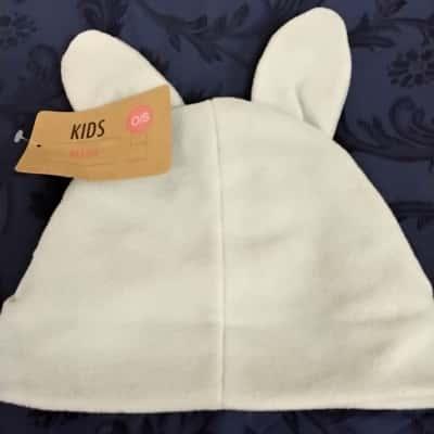 Kids  Size 0/1  Hat White