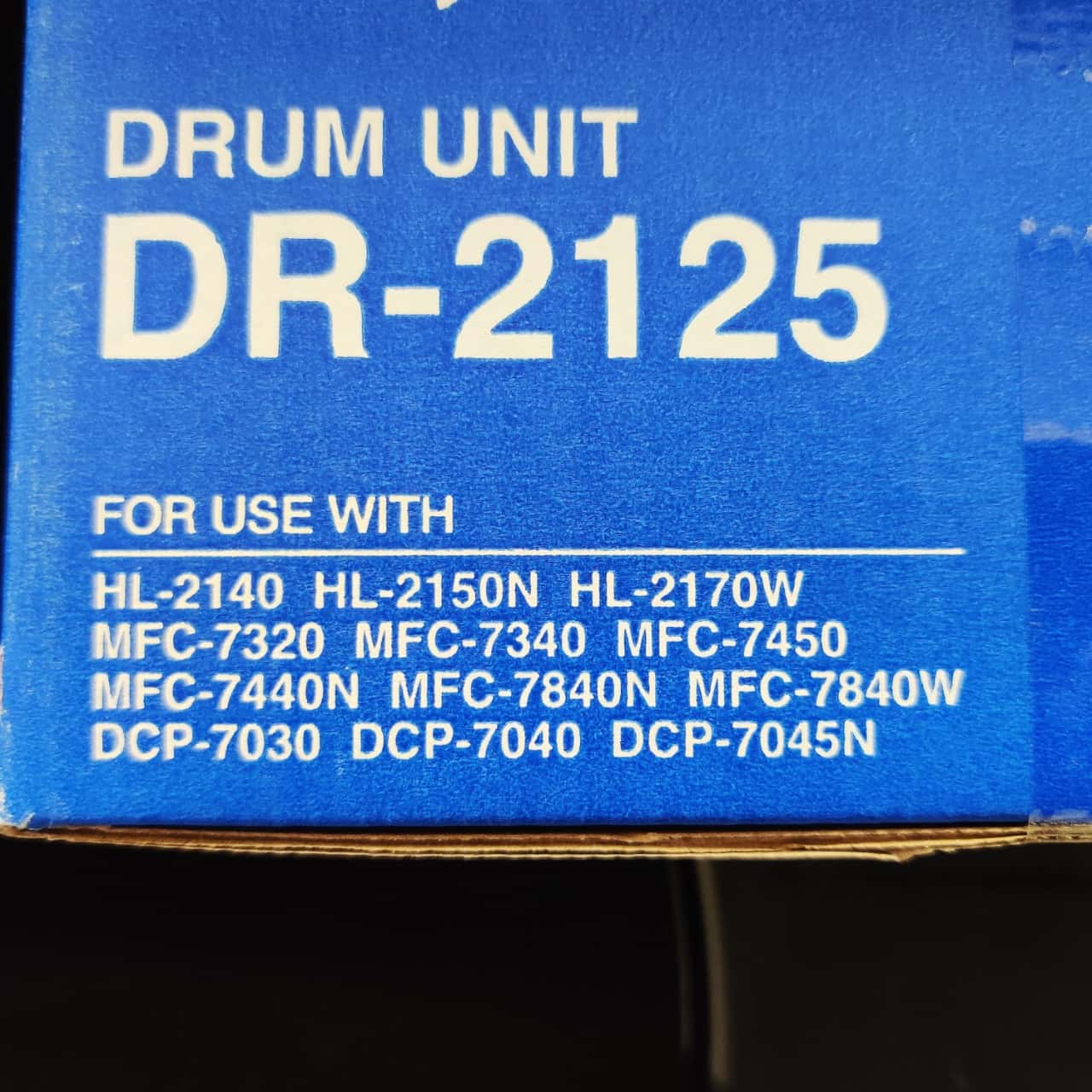 Brother DR-2125 Drum Unit for Brother Printers as per photo List