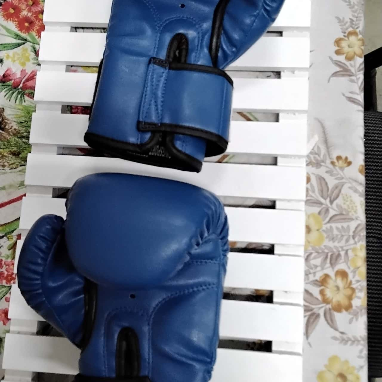 No limits Blue Boxing Gloves