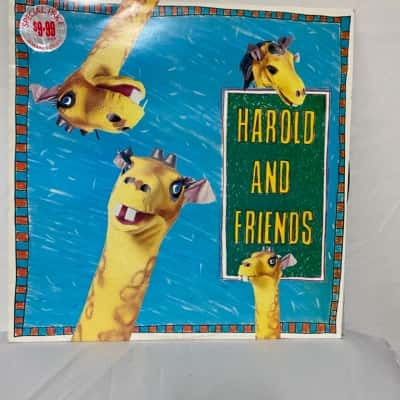 LAST CHANCE.............Vinyl Record LP Harold and Friends