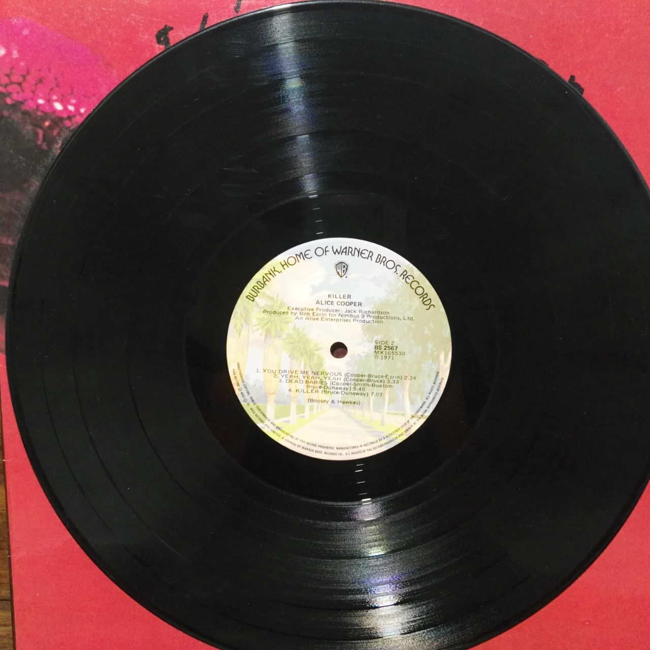 Vinyl Album Alice Cooper - Killer