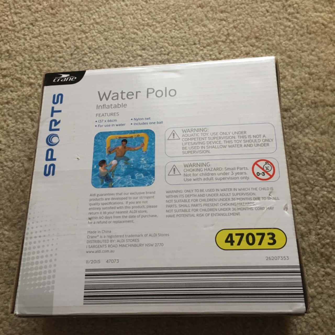 Crane Water Polo Inflatable Frame - Brand New