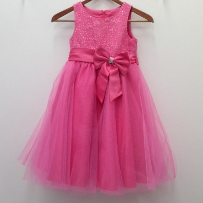 Gorgeous OLLIES PLACE Girls Pink Party Dress Size 7