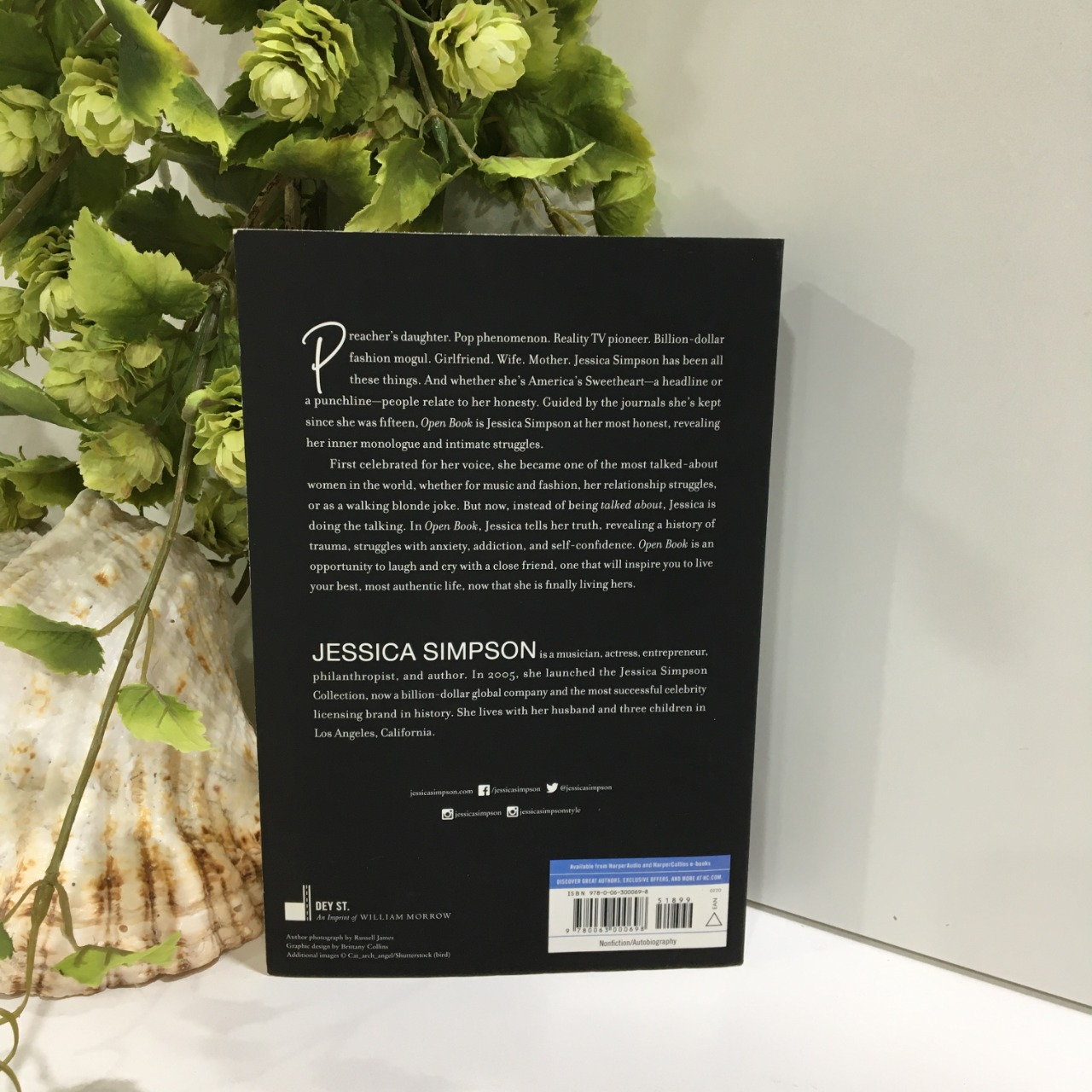 Jessica Simpson, Open Book